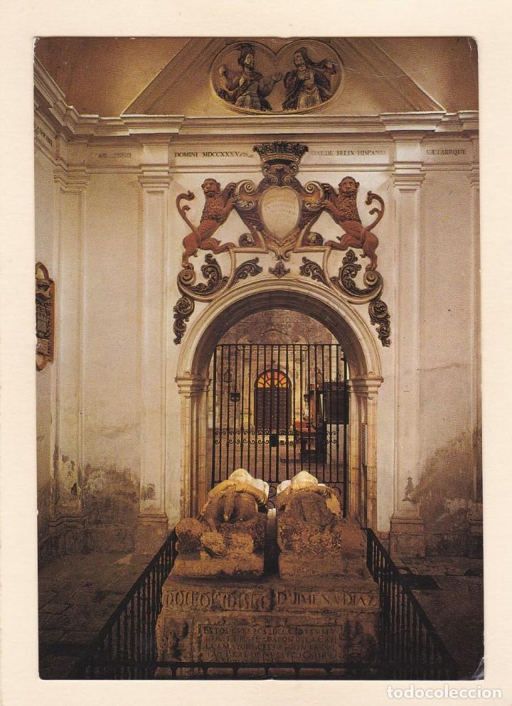 MONASTERIO DE SAN PEDRO DE CARDEÑA (BURGOS). SEPULCRO DEL CID (1976) (Postales - España - Canarias Moderna (desde 1940))
