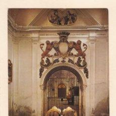 Postales: MONASTERIO DE SAN PEDRO DE CARDEÑA (BURGOS). SEPULCRO DEL CID (1976). Lote 270168383