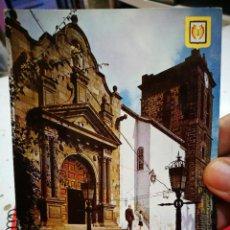 Postales: POSTAL SANTA CRUZ DE LA PALMA PÓRTICO DE LA IGLESIA DE SAN SALVADOR N 47 ESCUDO DE ORO 1970 CIRCULAD. Lote 270383253