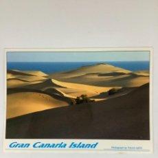 Postales: POSTAL MASPALOMAS, GRAN CANARIA. TULLIO GATTI. OBSEQUIO FORTUNA. Lote 270970823