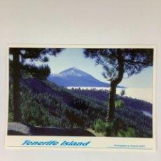 Postales: POSTAL TEIDE, TENERIFE. TULLIO GATTI. OBSEQUIO FORTUNA. Lote 270971028