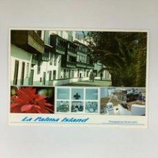 Postales: POSTAL SANTA CRUZ DE LA PALMA, TULLIO GATTI. OBSEQUIO FORTUNA. Lote 270971273