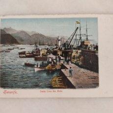 Cartoline: ANTIGUA POSTAL TENERIFE SANTA CRUZ THE MOLE BAZAR ALEMAN. Lote 271544943