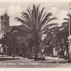 Postais: LAS PALMAS DE GRAN CANARIA, PLAZA CAIRASCO. ED. FOTO BAZAR ALEMAN Nº 79. SIN CIRCULAR. Lote 273511238