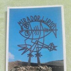 Postais: MIRADOR DEL RÍO - LANZAROTE. Lote 274312218