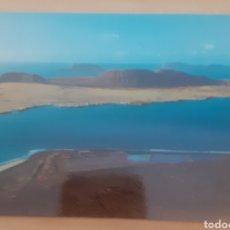 Postales: ISLA DE LA GRACIOSA DESDE EL RÍO LANZAROTE. Lote 274676823
