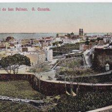 Postais: LAS PALMAS DE G. CANARIA VISTA GENERAL. NO CONSTA EDITOR. BYN COLOREADA. SIN CIRCULAR. Lote 275308773