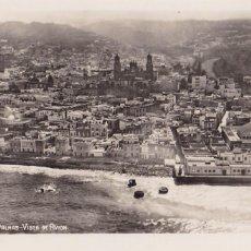 Postais: LAS PALMAS DE G. CANARIA VISTA DE AVION. NO CONSTA EDITOR. SIN CIRCULAR. Lote 275311938