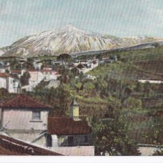 Postais: PEAK OF TENERIFE. ED. BAZAR ALEMAN LAS PALMAS. BYN COLOREADA. Lote 275313263