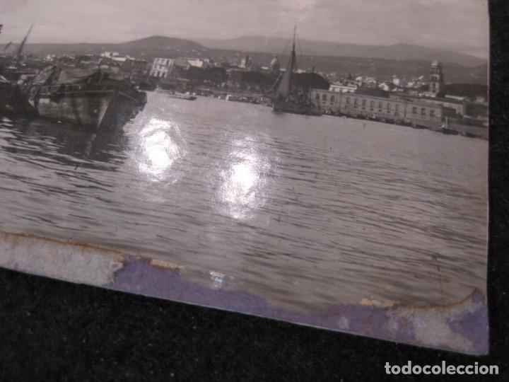 Postales: SANTA CRUZ DE TENERIFE-PUERTO-THE NORWEGIAN STEAMER SEVILLA-FOTOGRAFIA ANTIGUA-(82.594) - Foto 3 - 275314278