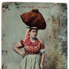 Cartoline: PRECIOSA POSTAL - TIPO CANARIO - LAS PALMAS. Lote 276221468