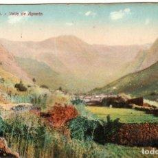 Postales: PRECIOSA POSTAL - LAS PALMAS - GRAN CANARIA - VALLEY DE AGAETE. Lote 276292428