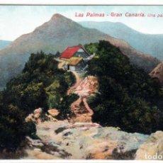 Postales: PRECIOSA POSTAL - LAS PALMAS - GRAN CANARIA - UNA PARTE DE LA CUMBRE. Lote 276294803