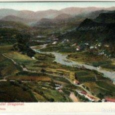 Postales: PRECIOSA POSTAL - LAS PALMAS (GRAN CANARIA) - BARRANCO DEL DRAGONAL - J.PERESTRELLO. Lote 276296183