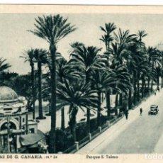 Postales: BONITA POSTAL - LAS PALMAS DE G.CANARIA - PARQUE S.TELMO - FOTO E.BAENA. Lote 276449538