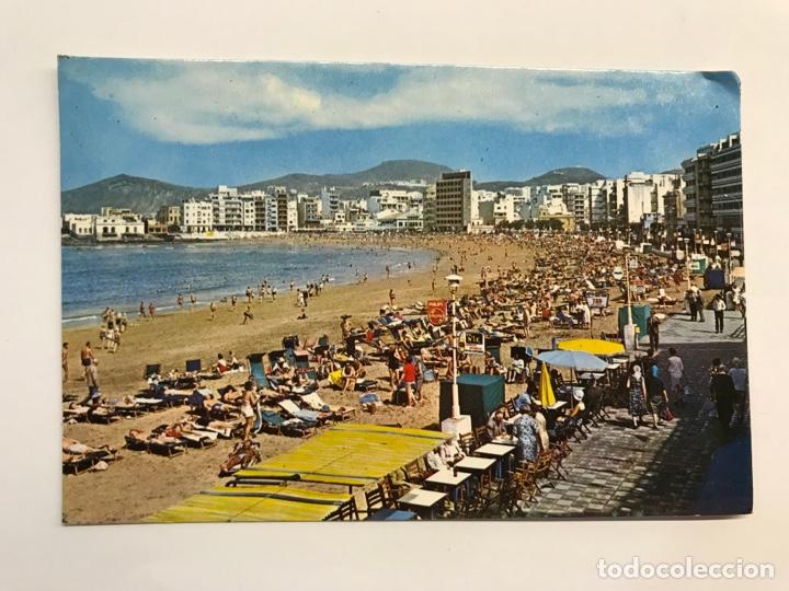 LAS PALMAS DE GRAN CANARIA. POSTAL NO.2295, PLAYA DE LAS CANTERAS. EDISSA (H.1960?) S/C (Postales - España - Canarias Moderna (desde 1940))