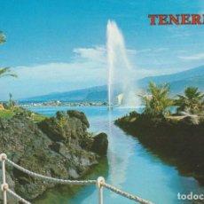 Postales: (5552) TENERIFE. PUERTO DE LA CRUZ. LAGO MARTIANEZ. Lote 277090083