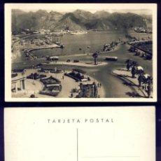 Postales: 1148 - ESPAÑA - BHAIA DE SANTA CRUZ DE TENERIFE / BARCO BUS GENTE - POSTAL 1940'. Lote 277164093