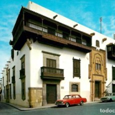 Postales: EM1208 GRAN CANARIA - CASA DE COLON 1965 - ESCUDO DE ORO Nº139 - COCHES. Lote 277459908