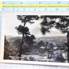 Cartes Postales: POSTAL DE TENERIFE. AÑOS 30 50. EL TEIDE DESDE ICOD DE LOS VINOS. SALON IDEAL TABAQUERIA . 1447. Lote 277503843