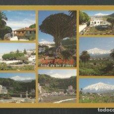 Postales: POSTAL SIN CIRCULAR ICOD DE LOS VINOS 280 TENERIFE EDITA SOL Y NIEVE. Lote 277558413
