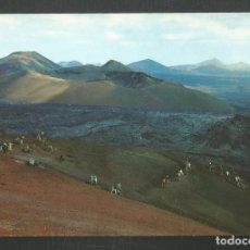 Postales: POSTAL SIN CIRCULAR LANZAROTE 20034 MONTAÑA DEL FUEGO EDITA COLECCION LAS AFORTUNADAS. Lote 277560418