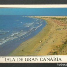 Postales: POSTAL SIN CIRCULAR GRAN CANARIA 79 PLAYA DEL INGLES EDITA PAISAJES CANARIOS. Lote 277658468