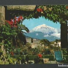Postales: POSTAL CIRCULADA TENERIFE 726 VISTA DEL TEIDE EDITA RO-FOTO. Lote 277658938