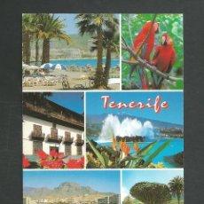 Postales: POSTAL CIRCULADA TENERIFE 540 LOS CRISTIANOS EDITA ESCUDO DE ORO. Lote 277659253