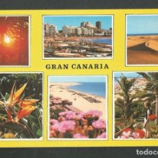 Postales: POSTAL CIRCULADA GRAN CANARIA 233 EDITA MIGUEL DIAZ. Lote 277659413