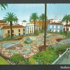 Postales: POSTAL SIN CIRCULAR LA OROTAVA 2237 ALFOMBRA HECHA CON PIEDRAS DEL TEIDE (TENERIFE) EDITA GASTEIZ. Lote 277659568