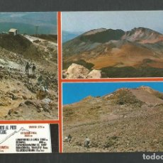 Postales: POSTAL SIN CIRCULAR TENERIFE 1020 PICO DEL TEIDE EDITA EULUAN. Lote 277662718