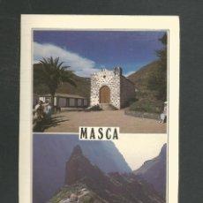 Postales: POSTAL SIN CIRCULAR ISLAS CANARIAS 213 MASCA (TENERIFE) EDITA SOL Y NIEVE. Lote 277663018