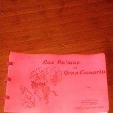 Postales: LIBRITO CON 9 POSTALES DE LAS PALMAS DE GRAN CANARIA EDICIONES LUJO ZARAGOZA. Lote 278181988