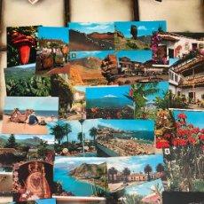Postales: 25 POSTALES DISTINTAS DE TENERIFE. SIN CIRCULAR. Lote 278495563