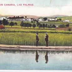 Postales: MOYA, GRAN CANARIA, LAS PALMAS. NO CONSTA EDITOR. BYN COLOREADA. SIN CIRCULAR. Lote 278799543