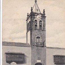 Postales: TENERIFE, LA LAGUNA INSTITUTO DE CANARIAS. ED. NOBREGA'S ENGLISH BAZAR. SIN CIRCULAR. Lote 278800248
