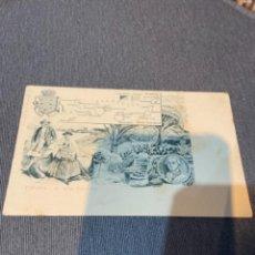 Postales: ISLAS CANARIAS - ANTIGU POSTAL ESPAÑA 12 ISLAS CANARIAS 14X9 CM . REVERSO SIN DIVIDIR. Lote 278810418