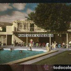 Postales: EA172 LAS PALMAS DE GRAN CANARIA GRAN HOTEL SANTA CATALINA PISCINA Y SOLARIUM RECOUPE Nº10. Lote 278873718