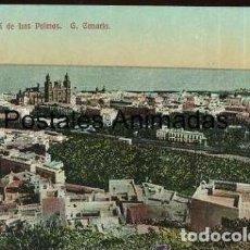 Postales: EA174 LAS PALMAS VISTA GENERAL. Lote 278873938