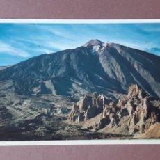 Postales: POSTAL PERERA WEYLAND. PARQUE NACIONAL DE LAS CAÑADAS. TEIDE. TENERIFE. CIRCULADA 1986.. Lote 279594398