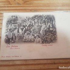Postais: POSTAL LAS PALMAS - CANARY WOMEN - SIN DIVIDIR. Lote 280399663