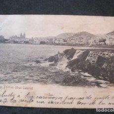 Postales: LAS PALMAS (GRAN CANARIA)-BAZAR ALEMAN-5-REVERSO SIN DIVIDIR-POSTAL ANTIGUA-(82.811). Lote 282591368