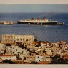Cartoline: LAS PALMAS DE GRAN CANARIA HOTEL METROPOL QUEEN MARY PUBLICIDAD LINEAS AÉREAS SABENA - LAXC - P60992. Lote 283838253