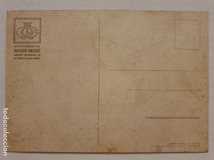 Postales: LAS PALMAS DE GRAN CANARIA - APARTAMENTOS GALILEO GALILEI - LAXC - P60993 - Foto 2 - 283838713
