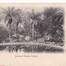 Postais: TENERIFE, OROTAVA BOTANICAL GARDENS. ED. BAZAR ALEMAN. REVERSO SIN DIVIDIR. CIRCULADA EN 1904. Lote 284302728