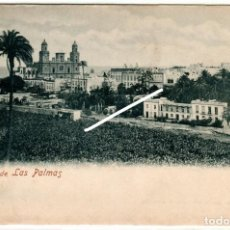 Postales: MAGNIFICA POSTAL - VISTA DE LAS PALMAS - BLAS RAMIREZ. Lote 284796888