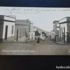 Cartes Postales: GÜIMAR TENERIFE CALLE SAN PEDRO. Lote 285219138