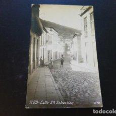 Cartes Postales: ICOD TENERIFE CALLE SAN SEBASTIAN POSTAL FOTOGRAFICA. Lote 285222598
