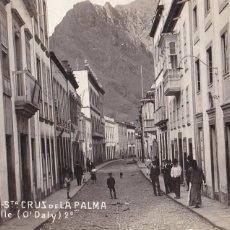 Postales: TENERIFE, STA. CRUZ DE LA PALMA CALLE O'DALY. ED. F.B. Nº 12. POSTAL FOTOGRAFICA ESCRITA EN 1923. Lote 285525143
